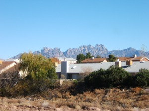 Organ Mountains from the Backyard