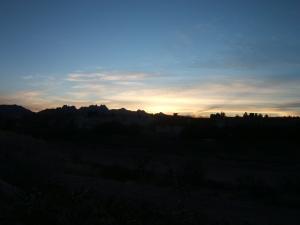 SUNRISE 1/23/09
