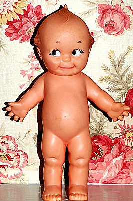 a kewpie-doll mARGE POST